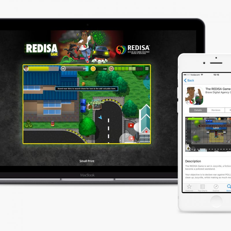 Redisa-WelcomeScreen