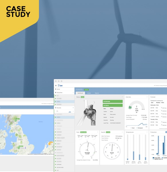 EWT Wind Turbine Dashboard
