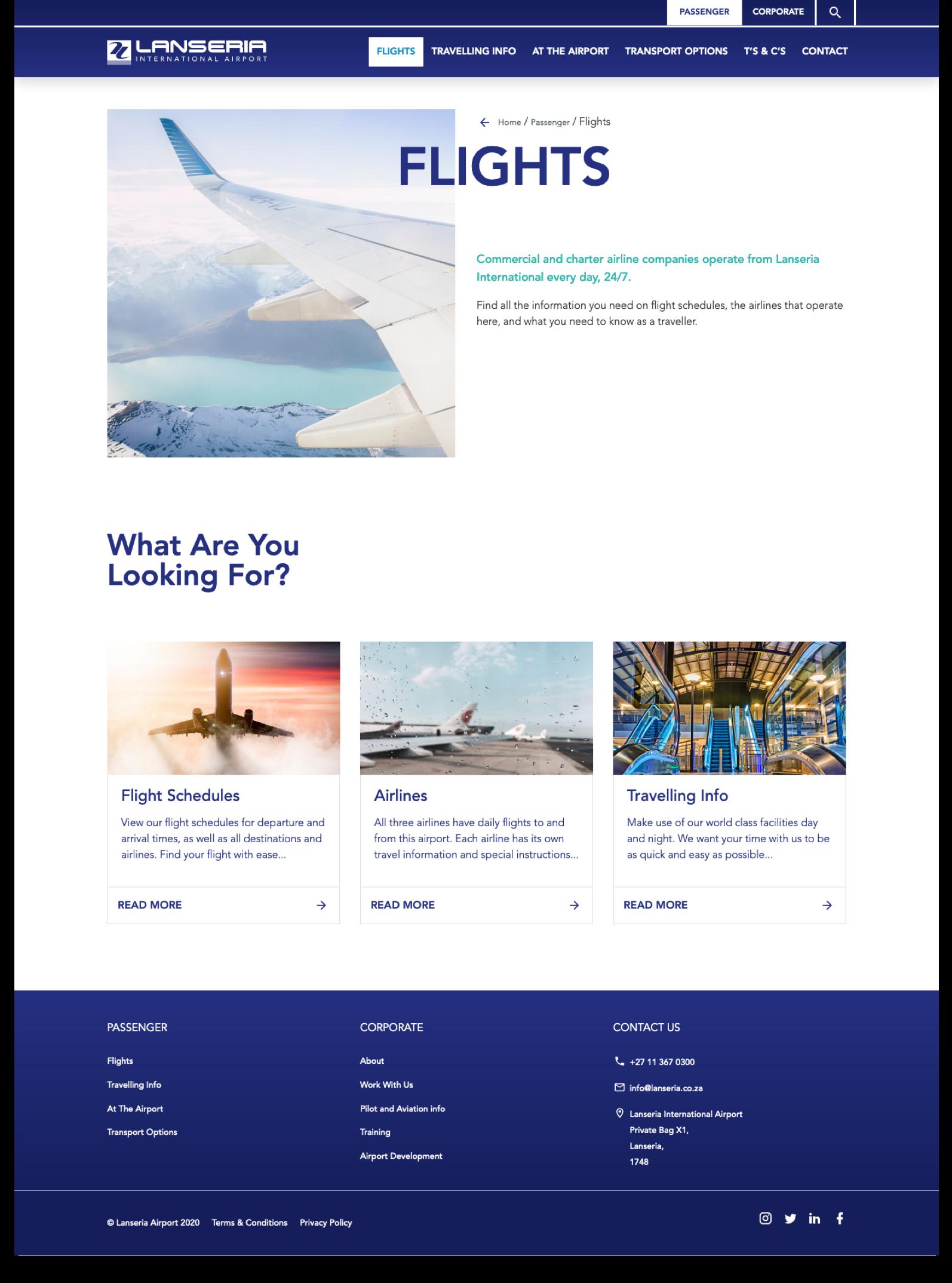 Lanseria-flights